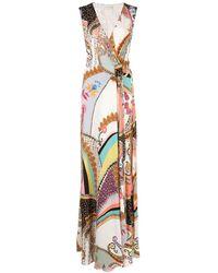 Etro - ラップスタイル ドレス - Lyst