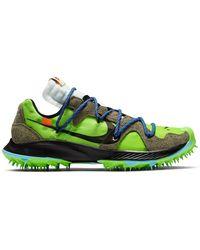 Nike X Off-white Zoom Terra Kiger 5 Trainers - Green