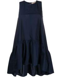Blanca Vita ノースリーブ ドレス - ブルー