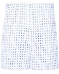 Martha Medeiros - Tammy Lace Shorts - Lyst