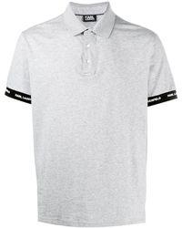 Karl Lagerfeld - ロゴ ポロシャツ - Lyst