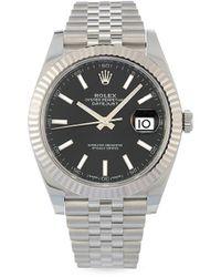Rolex 2021 Unworn Datejust 41mm - Black