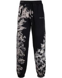 Daily Paper Abstract Print Track Trousers - Black