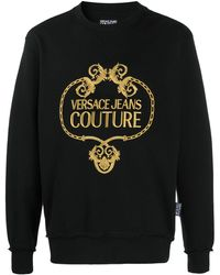 Versace Jeans - バロックロゴ セーター - Lyst
