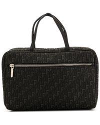 Dior Bolso mini con estampado Trotter - Negro