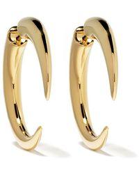 Shaun Leane Large Quill Talon Earrings - Metallic