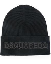 DSquared² - ロゴ ビーニー - Lyst