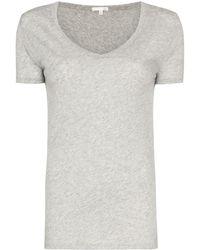 Skin - Vネック Tシャツ - Lyst