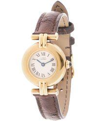 Cartier Pre-owned Must Colisee Vermeil Wrist Watch - Brown