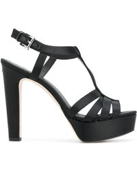 MICHAEL Michael Kors - Catalina Platformed Sandals - Lyst