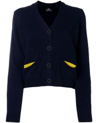 PS by Paul Smith - Flap Pocket Cardigan - Lyst