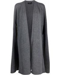 JOSEPH Soft Wool Cape - Gray
