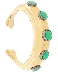 Aurelie Bidermann Turquoise Bracelet - Metallic