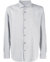 Closed Рубашка Свободного Кроя С Длинными Рукавами - Серый