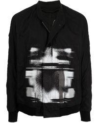 Julius グラフィック ライトジャケット - ブラック