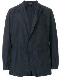 Issey Miyake PE Memory jacket - Bleu