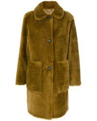 DESA NINETEENSEVENTYTWO - Savanah Fur Coat - Lyst