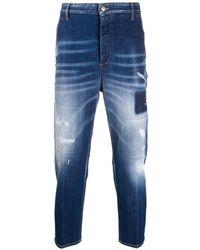 DSquared² クロップドジーンズ - ブルー