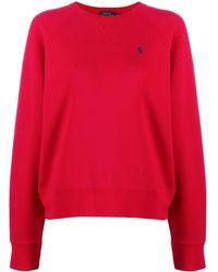 Polo Ralph Lauren ロゴ スウェットシャツ - レッド