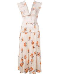 Kleid Mehrfarbig Kleid Kleid Blumenmuster Blumenmuster Mit Mit Blumenmuster Mehrfarbig Mit Mehrfarbig Kleid zMVpGqUS