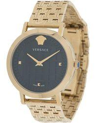 Versace メデューサ 腕時計 - メタリック