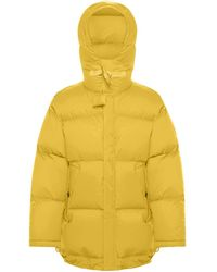 JW Anderson X Moncler Hooded Padded Jacket - Yellow