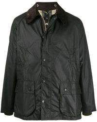 Barbour ユーティリティポケット ジャケット - ブラック