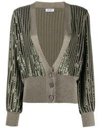 Liu Jo Sequin Embellished Cardigan - Green