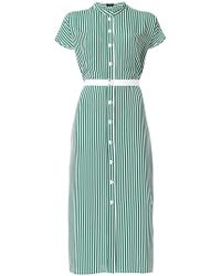 JOSEPH - Striped Shirt Dress - Lyst