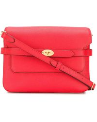 Mulberry Bolso satchel Belted Bayswater - Rojo