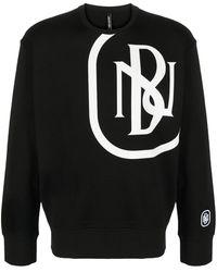 Neil Barrett ロゴ スウェットシャツ - ブラック