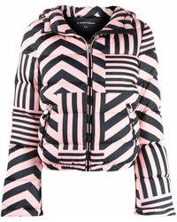 Perfect Moment Куртка В Полоску - Розовый