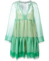 Stella McCartney - Circle Star Mini Dress - Lyst