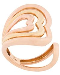 Nevernot Heart embellished ring - Multicolore