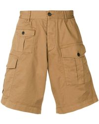 DSquared² Cargo Shorts - Natural