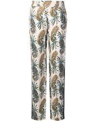 Etro - Pantalon à motif cachemire - Lyst