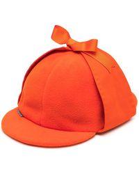 Anglozine Don Deerstalker Hat - Orange