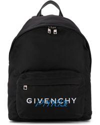 Givenchy Logo Print Backpack - Black
