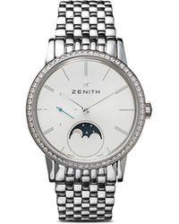 Zenith Reloj Elite Lady Moonphase 33mm - Metálico