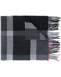 Church's チェック スカーフ - グレー