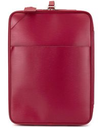 Louis Vuitton 'Pegase 55' Reisetasche - Rot