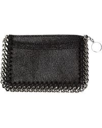 Stella McCartney - Falabella Shaggy Faux Deer Card Holder - Lyst