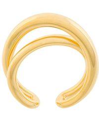 Charlotte Chesnais Initial Ring - Metallic