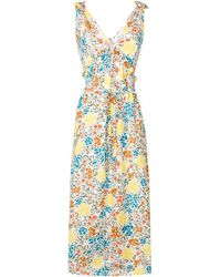 Isa Arfen - Floral Print Dress - Lyst