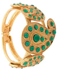 Oscar de la Renta Taj Cuff Bracelet - Metallic