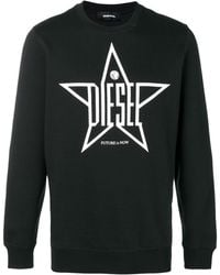 DIESEL - プリント スウェットシャツ - Lyst