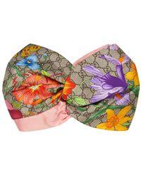 Gucci GG Flora Headband - Multicolor