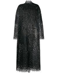 Biyan シルクコート - ブラック