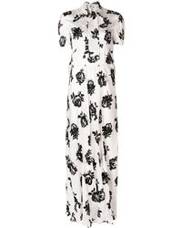 Miu Miu フローラル ドレス - マルチカラー