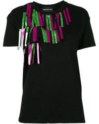Marco Bologna Embellished T-shirt - Black